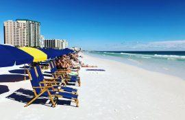 Pelican Beach Resort, the beach